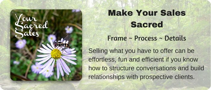 Make Your Sales Sacred