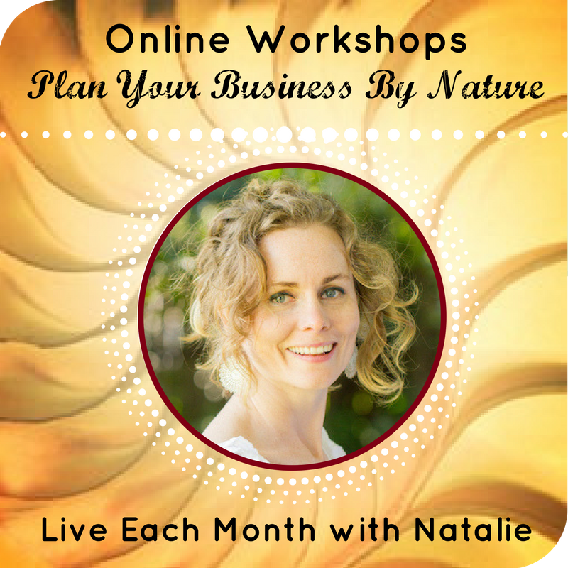 Live Online Workshops with Natalie
